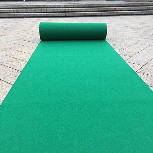 Tappeti paSSATOIA Il Giardino all'aperto eliminabile Verde di Nozze del condominio di Matrimonio all'aperto Mostra Le Scale ha Aperto Ultra Lungo del Negozio Completo Carpet