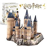 CubicFun Puzzle 3D Harry Potter Hogwarts Torre di Astronomia Kit di Costruzione Modello Regalo per Adulti e Bambini, 243 Pezzi - Versione Grande