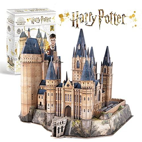 CubicFun Puzzle 3D Harry Potter Torre de la Astronomía de Hogwarts Puzzles 3D Kits