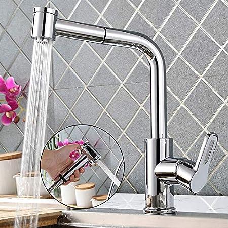 Kuchenarmatur Waschbecken Spultischarmatur Wasserhahn Einhebelmischer Ausziehbar