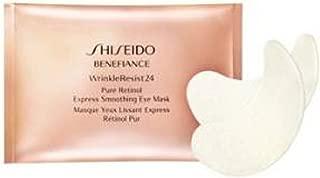 Shiseido Benefiance WrinkleResist24 Pure Retinol Express Smoothing Eye Mask ~ 6 masks