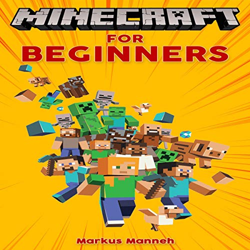 Minecraft for Beginners audiobook cover art