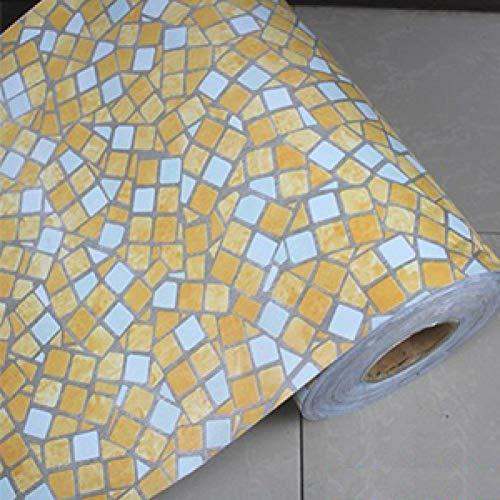 ZAOWEN Küchen-wasserdichteTapeten-EntfernbareSelbstklebende Fliesen-Tapete Für Badezimmer-Toiletten-Mosaik-Muster-Wand-Aufkleber