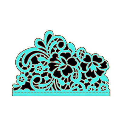 Lace Metal Cutting Dies Flower Border Crafts Die Cuts for DIY Scrapbooking Paper Cards Decorations Embossing DIY Arts