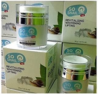 So Snail HD Glossy Cream,snail Cream Face Skin Younger,reduce Clear,flawless