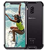 (2019) Blackview BV9600 PRO 4G Rugged Smartphone, Helio P70 6GB + 128GB, Cellulare Impermeabile Android 9.0 IP68, FHD da 6,21'' + Schermo AMOLED, SIM DUAL, NFC, 16 MP + 8 MP, Carica Wireless Argento
