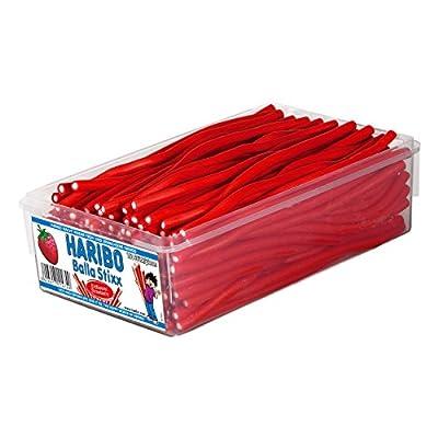 haribo balla balla strawberry, 150 pieces, 1125g tub Haribo Balla Balla Strawberry, 150 Pieces, 1125g Tub 514pOz49RoL