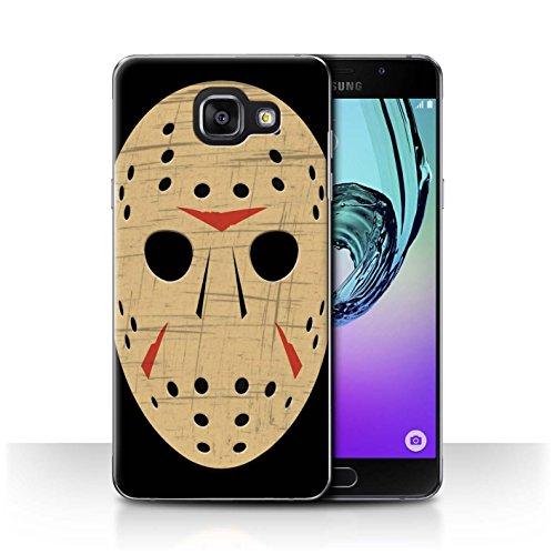 Hülle Für Samsung Galaxy A5 (2016) Grusel Filmkunst Jason Vorhees Maske Inspiriert Design Transparent Ultra Dünn Klar Hart Schutz Handyhülle Case