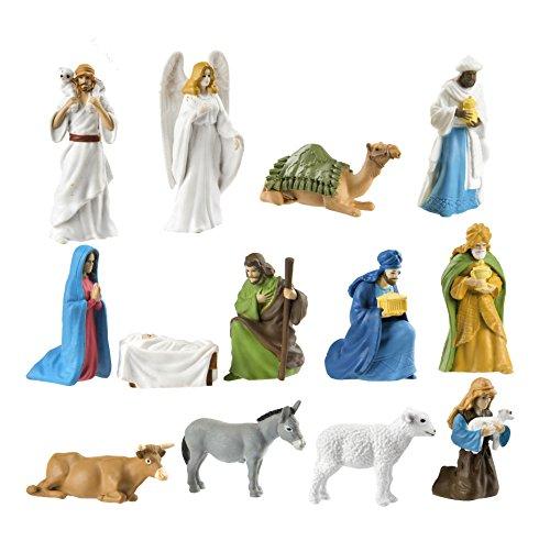 Safari- Nativity People, Multicoloured (S660504)