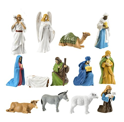 Safari Ltd. Nativity SuperTOOB - Quality Construction from Safe and BPA Free Materials