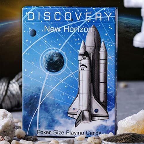 SOLOMAGIA Discovery New Horizon (Blue) Playing Cards by Elephant Playing Cards