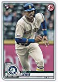 2020 Bowman #78 Kyle Lewis Seattle Mariners MLB Baseball Card (RC - Rookie Card) NM-MT. rookie card picture