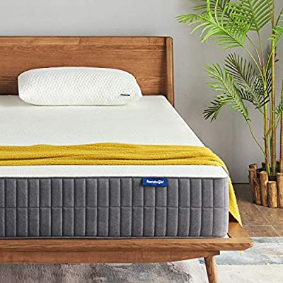 10 Inch Gel Memory Foam Mattress with CertiPUR-US Certified for Back Pain Relief/Motion Isolation&Cool Sleep