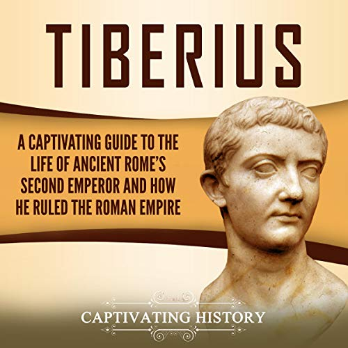 Tiberius audiobook cover art