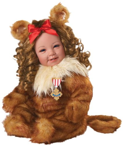 "Adora Cowardly Lion 20"" Wizard Of Oz Play Doll"
