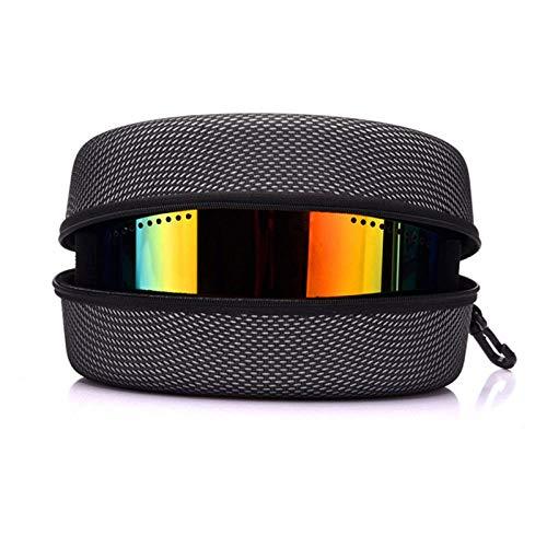 Ski Goggles Case Winter Snowboard Bril Zonnebril Stof/Rits Hard Box Ski Masker Case Bril Opbergdoos grijs