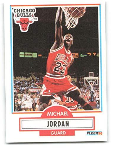 1990-91 Fleer #26 Michael Jordan NM-MT Chicago Bulls Officially Licensed NBA Basketball Trading Card