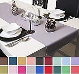 Roban Fashion Tischläufer Tischband Tischtuch Tischdecke 40cm Breit in 26 Farben