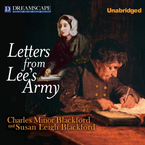 Letters from Lee's Army audiobook cover art