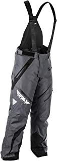 Fly Racing F19 SNX Pro Insulated Mens Snowmobile Pants - Black/Gray - Large
