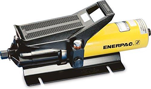 Enerpac PA-133 Air Hydraulic Pump with 10,000 Pounds Per Square Inch and Base Mounting Slots