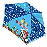 ジェイズプランニング マリオ 折りたたみ傘 子供用 手開き キャラクター 折畳傘 スーパーマリオ 53cm 90310