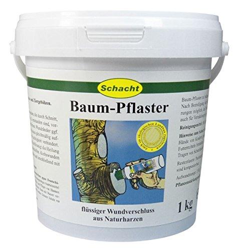 Schacht Baum-Pflaster 1 kg Wundverschluss Baumpflege Veredlungsmittel