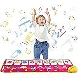 Shayson Alfombra de Piano, Alfombra de música Touch Play Alfombra de Teclado ...