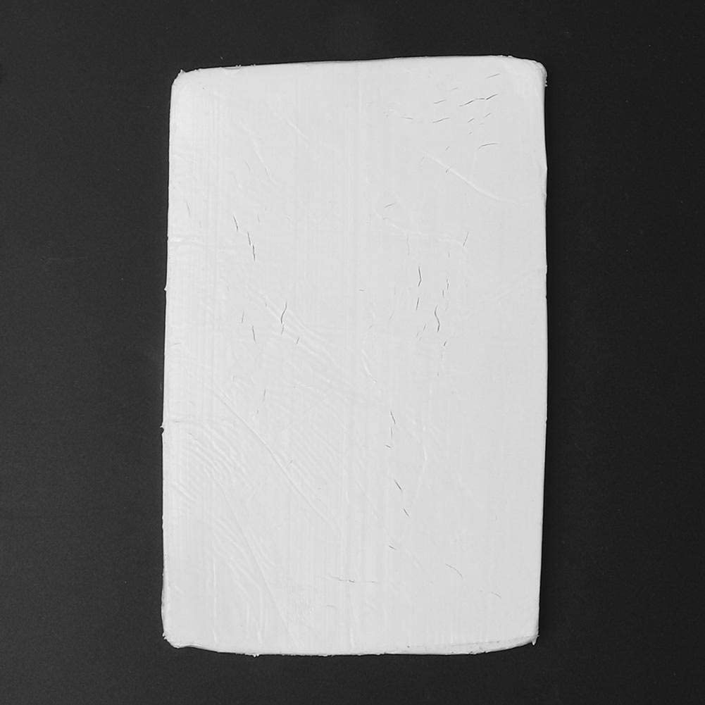 250g Funny Single Monochrome Polymer Modeling Clay Environmental Frendly Modelling Clay Soft and Nontoxic DIY Plastic Tools and Accessories Polymer Clay White