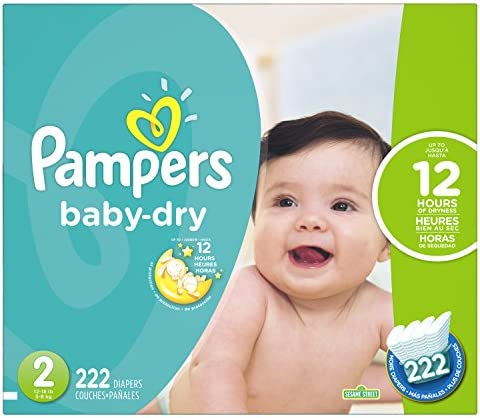 Pampers Premium Monthly Box S3 204 unidades
