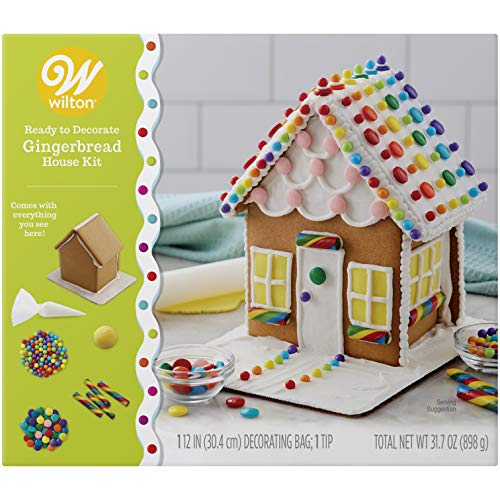 Wilton Ready to Decorate Gingerbread Townhouse Decorating Kit