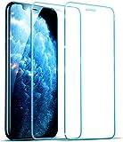 UNO' Protector pantalla 2 Unidades, Protector pantalla cristal templado compatible con iphone 11, iphone xr vidrio templado HD apto para iphone 11 iphone XR,
