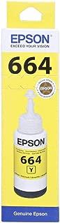 Epson Ink Cartridge - T6644, Yellow 70ml Ink Bottle
