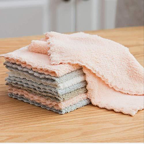 Afwasdoek Huishoudelijke Keukenbenodigdheden Doekjes Huiswerk Schoonmaken Absorberende Handdoeken In principe Niet Vette en Lint-Vrije Veeg Tafelkleed 6 Stks Gemengde Kleur