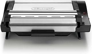 DeLonghi CG4001.BK Grill Viande diététique Noir/Argent 1600 W