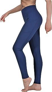 comprar comparacion Occffy Leggings Mujer Fitness Cintura Alta Pantalones Deportivos Mallas para Running Training Estiramiento Yoga y Pilates ...