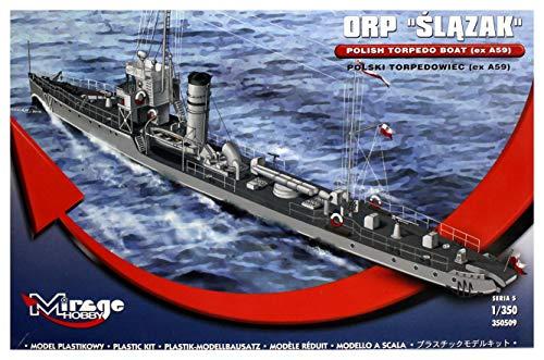 Mirage Hobby 350509 Kit modèle du potentiel d'oxydo-réduction slazak polonais Torpedo Boat EX A59