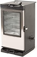 Masterbuilt 20077515 Front Controller Electric Smoker with Window and RF Controller, 30-Inch