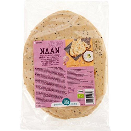 Terrasana Naan Knoblauch, 240 g