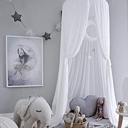 OUlike Kids Bed luifel voor meisjes jongens slaapkamer Decor, opknoping luifel voor het lezen hoek, baby wieg luifel voor kinderdagverblijf, spelen tent huis kasteel