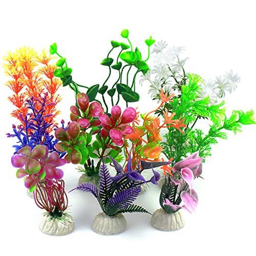 Vascinate Plantes en Plastique d'aquarium d'aquarium,...