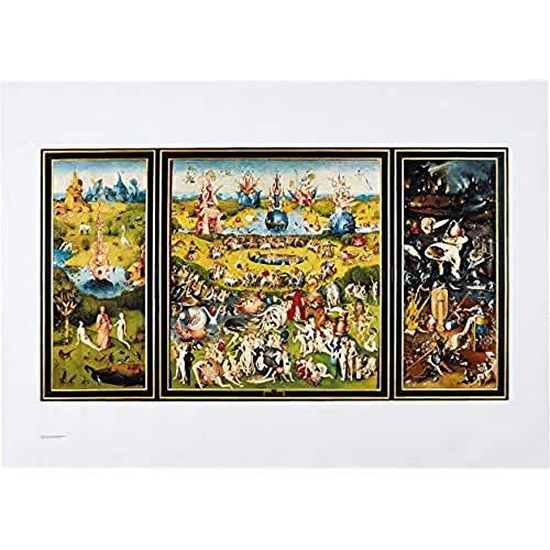 Museo del Prado 'Tríptico del Jardín de las delicias', Impresión oficial del Museo del Prado