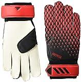 adidas Unisex-Adult Pedator 20 Training Goalie Gloves Black/Red 6