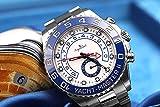 AGEGIERA Orologi Meccanici Automatici Nuovi di Zecca GMT GMT Lunetta in Ceramica Blu Brillante Vetro...