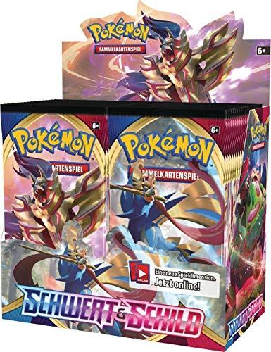 Pokemon Schwert & Schild - Serie 1 - 5 Booster - Deutsch (1 Display / 36 Booster)