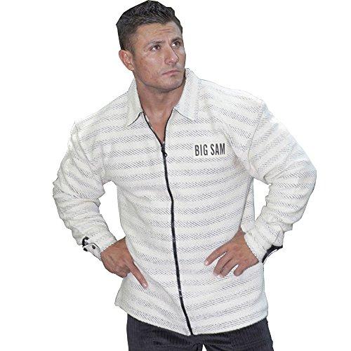BIG SM EXTREME SPORTSWEAR Herren Jacke Bomberjacke Sweatshirt Jacke Blouson 4048 XXL