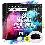 *NEU* HardExplode+ Das Natürliche Potenzmittel mit der Einzigartigen HE-Power Formel I NEUTRALE LIEFERVERPACKUNG I 4 Hochdosierte Inhaltsstoffe (WEISSER...