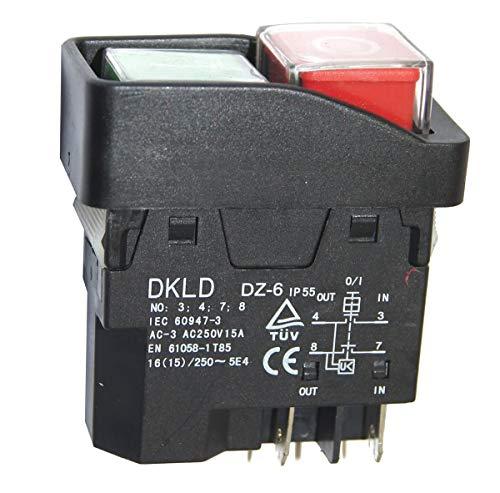 ATIKA Ersatzteil | Schalter für Tischkreissäge T 250 N-2 / T 250 ECO-2