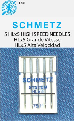 SCHMETZ HLX5 High-Speed Professional Quilting Needles - Carded - Size 90/14