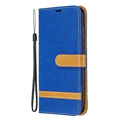 Hülle für Nokia 3.2 Hülle Handyhülle [Standfunktion] [Kartenfach] [Magnetverschluss] Schutzhülle lederhülle flip case für Nokia3.2 - DEBF031052 Saphir